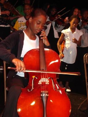 young cellist, Hip-Hop Blues Project 2008